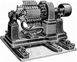 История электрогенератора